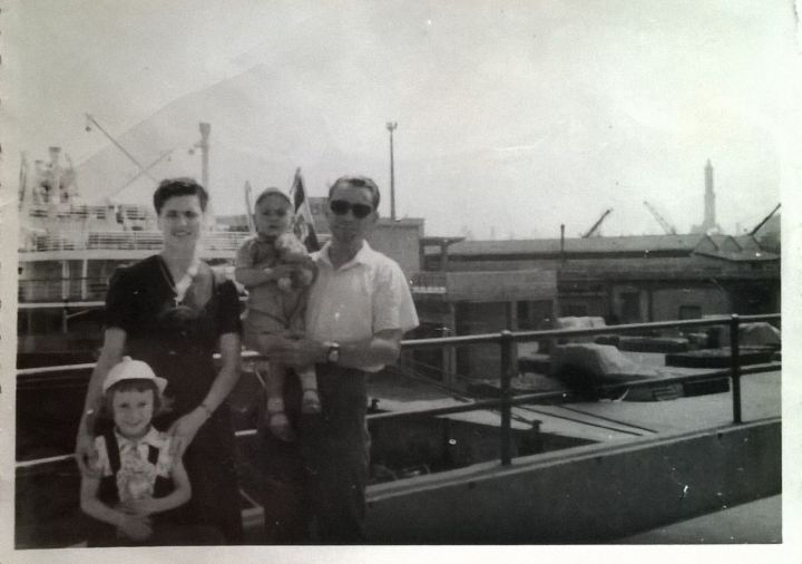 Mamma e papà anni 60