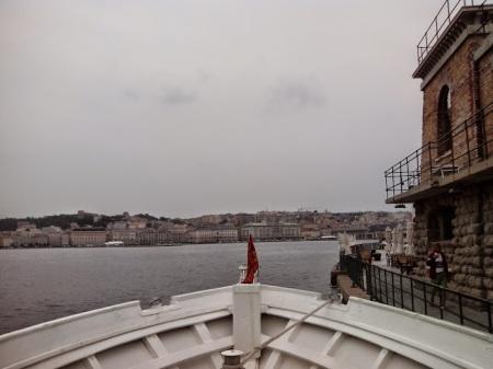 Trieste dalla Diga