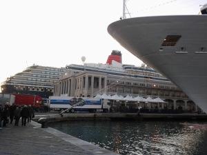 Trieste, in 48 ore, ospita ben 4 navi da crociera