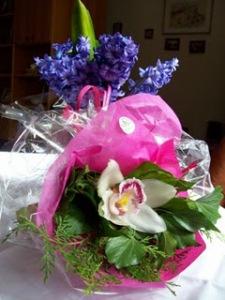 Per pranzo orchidee!