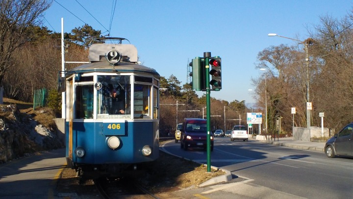 Il tram di Opcina a Trieste