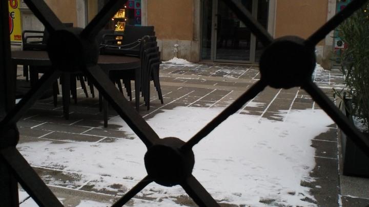 Trieste, neve e bora