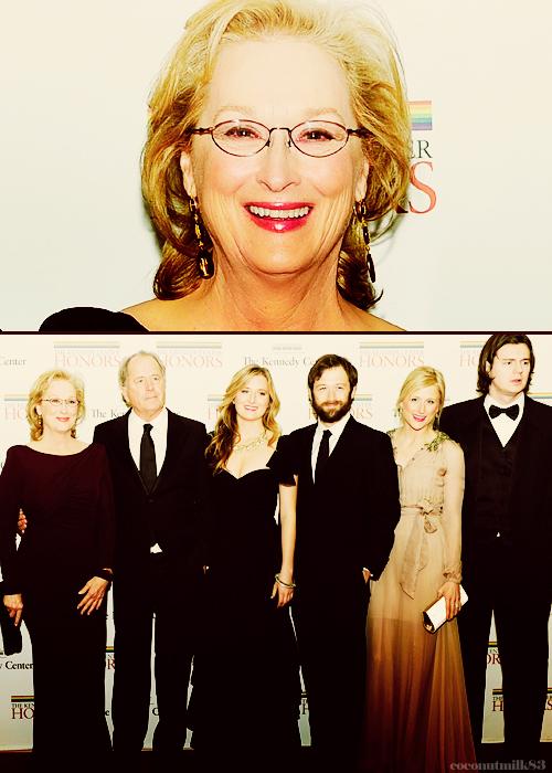 Meryl Streep e la sua famiglia