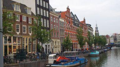 un canale ad Amsterdam
