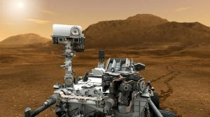 Curiosity Rover su Marte