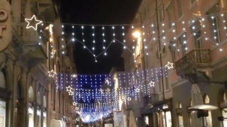 Luci natalizie di Trieste