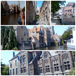 Collage Bruges - Brugge
