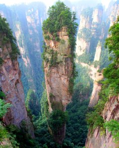 Tianzi Mountains, Cina