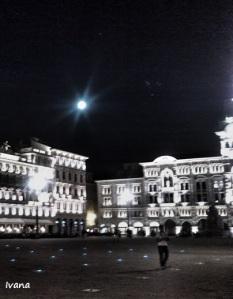 Superluna a Trieste