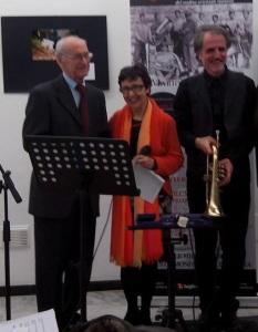 Ottavio Gruber, Gabriella Valera e Mario Fragiacomo